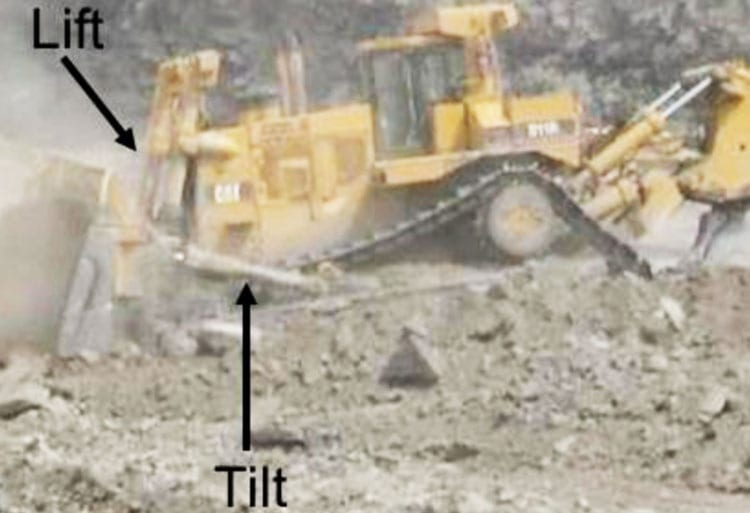 Caterpillar® D11R in operation