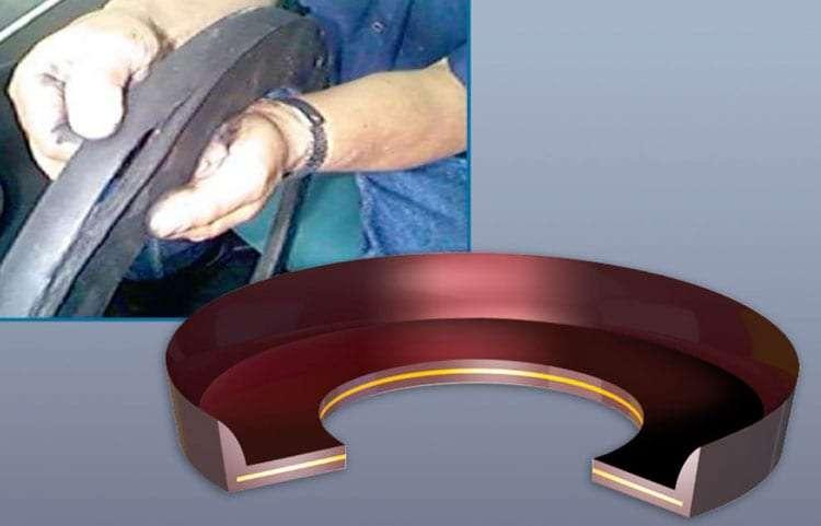 Damaged rubber OEM
