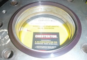 Chesterton AWC 800 21K Wiper installed on Wiper Plate