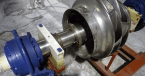 Rotating element of the fan pump