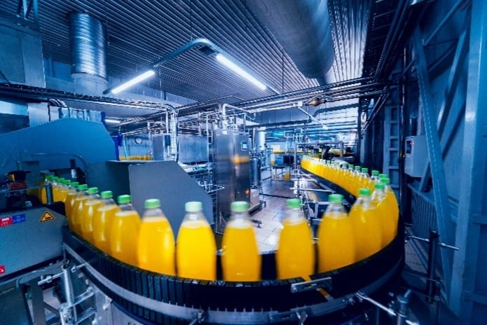 drink processing plant