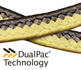 A close up of DualPac® 2211 Packing