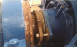 Sealing problems with an ash pump
