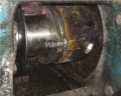 An external view of the shaft