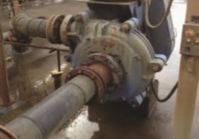 The pump had constant leaks